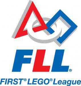 FIRST LEGO League logo.