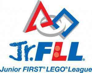 FIRST LEGO League Jr. logo.