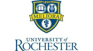 The University of Rochester logo.